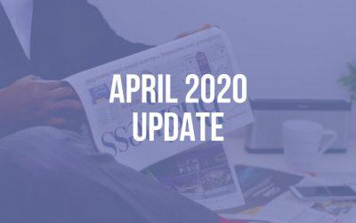 CEO Update: April 2020