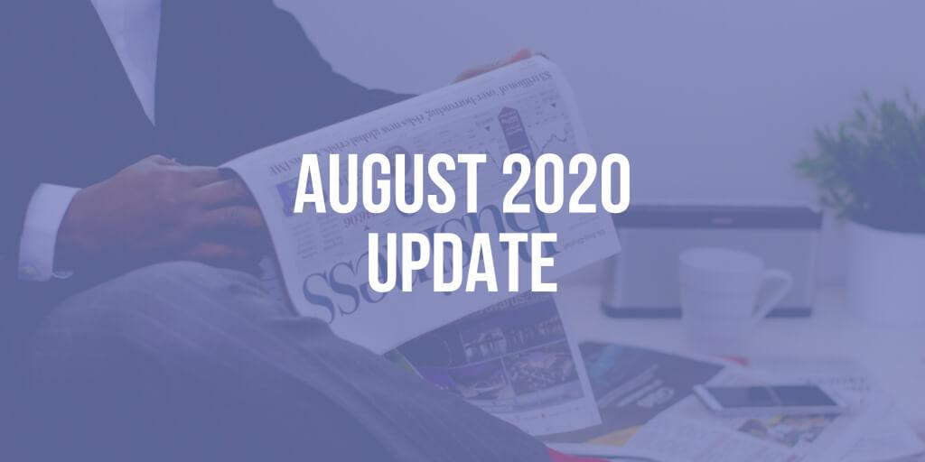 CEO Update: August 2020