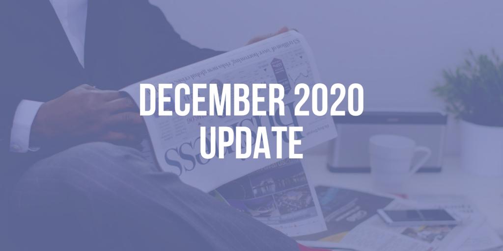 CEO Update: December 2020